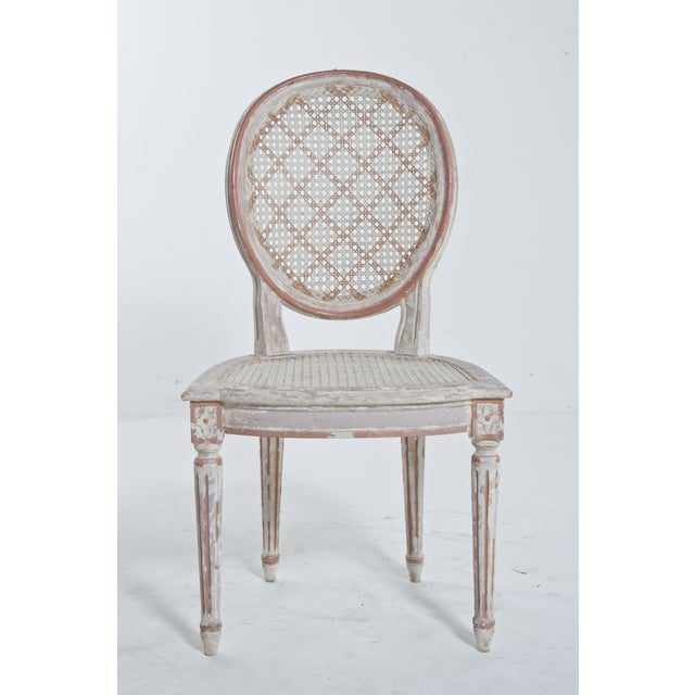 French Caned Chair - Image 4 of 8