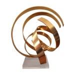 Image of Abstract Dan Murphy Aluminum & Lucite Sculpture