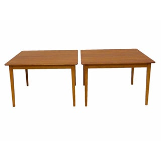 Tingstroms of Sweden Teak Side Tables - Pair