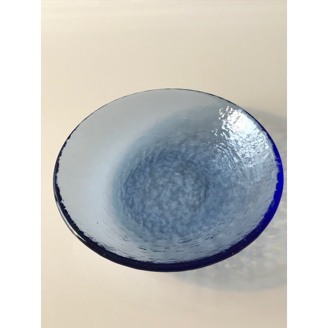Multi-Colored Textured Glass Dishes - Set of 4 - Image 4 of 4