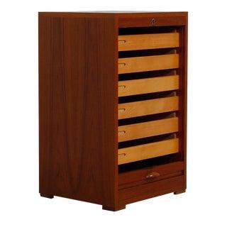 Danish Modern Teak 6-Drawer Petite Cabinet