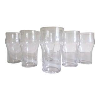 Vintage French Bistro Modern Tempered Soda Glasses - Set of 6
