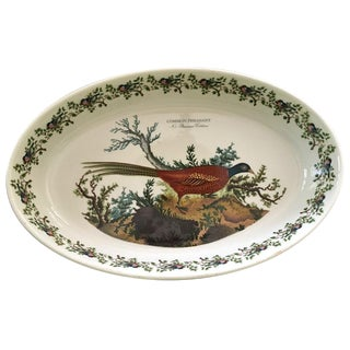Birds of Britain Large Oval Baking Dish