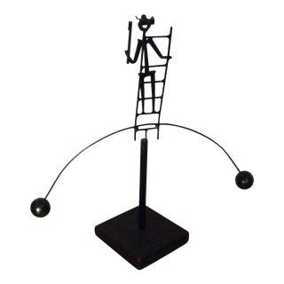 Mid-Century Modern Sculpture Kinetic Modernist Statue