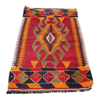 Oriental Turkish Kilim - 2′6″ × 3′6″