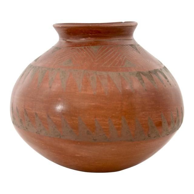 Southwestern Redware Pottery Urn - Image 1 of 7