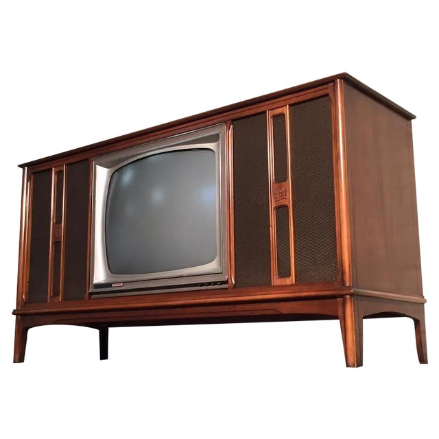 Mid-Century Television Stereo Console - Image 1 of 10