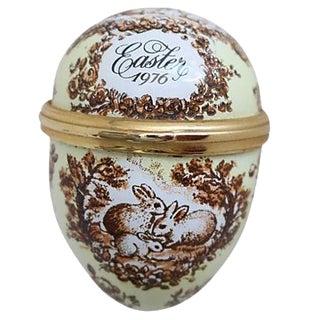 Easter Egg & Bunny Pill Box