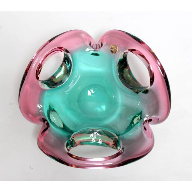 Mid-Century Sculptural Murano Glass Dish - Image 5 of 11