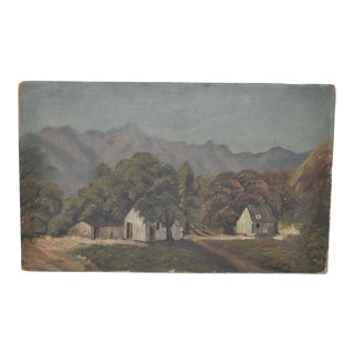 Early California Mountain Valley Landscape c.1900