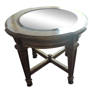 Burled Wood Table