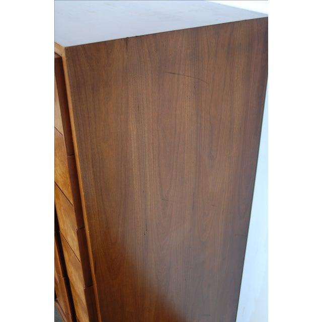 Mid Century Thomasville Sculptural Highboy Dresser - Image 11 of 11