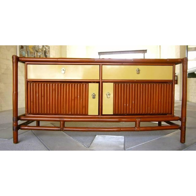 Mid-Century Asian-Style Sideboard - Image 3 of 5