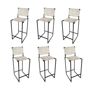 Set of 6 Peg Woodworking Steelheart Dining Stools