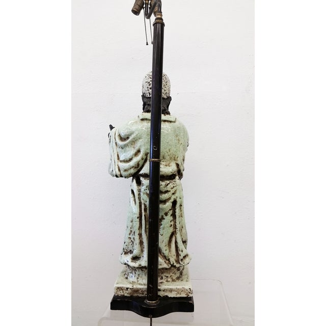 James Mont Style Figural Table Lamp - Image 6 of 8