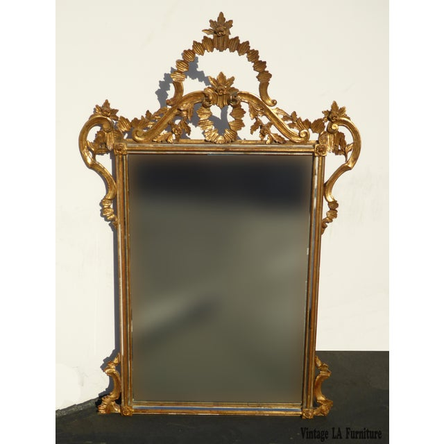 Italian Gilt Wood Mantle Mirror - Image 2 of 11