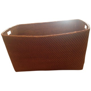 Waterworks Rattan Extra Large Basket