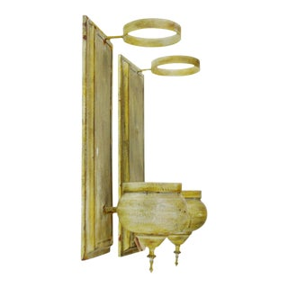 Uttermost Distressed Finish Larissa Candle Sconces- A Pair
