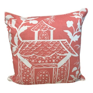 "China Seas Lyford for Quadrille Pillow - 21"" x 21"""