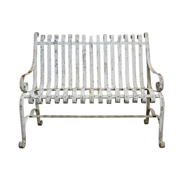 Cast Iron Garden Bench - Image 1 of 3