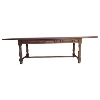 Spanish Antique Rustic Dining Table