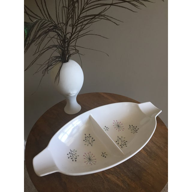 """Franciscan Ware """"Echo"""" Pattern Serving Dish - Image 2 of 4"""