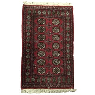 Hand Knotted Wool Rug - 2′6″ × 4′10″