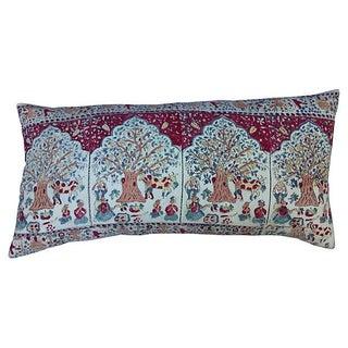 Indian Tree of Life Block Print Body Pillow