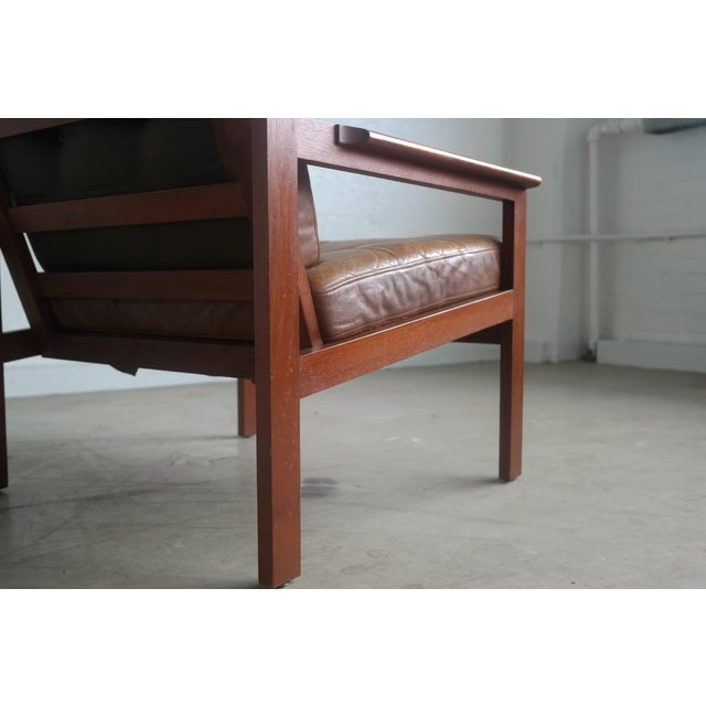 "Illum Wikkelsø ""Capella"" Teak Easy Chair - Image 6 of 9"