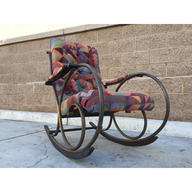 Lee Woodward Rocking Chair - Image 2 of 5