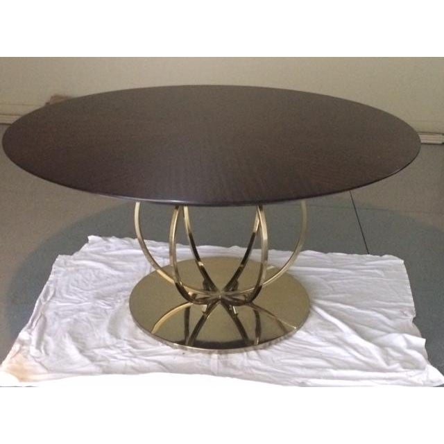 Image of Bernhardt Jet Set Round Dining Table