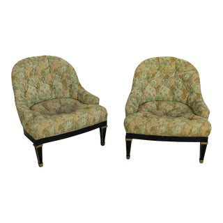 Pair of American Mid-Century Club Chairs