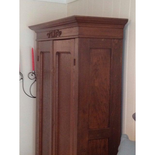 Image of Antique Oak Wardobe