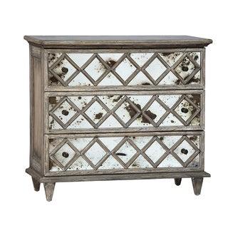 Antiqued Mirror Dresser