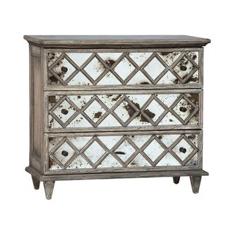 Antiqued Mirror Dresser