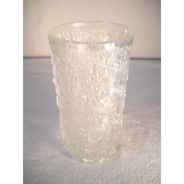Danish Modern Ice-Textured Glasses - Set of 10 - Image 8 of 8