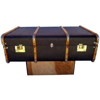 Vintage European Trunk Coffee Table