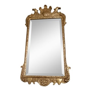 Gilt Wood Regency Style Friedman Brother Console Mirror