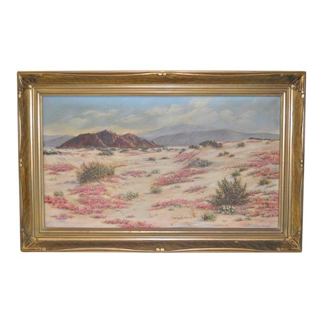 Image of Elizabeth Hewlett Watkins California Desert Landscape Painting