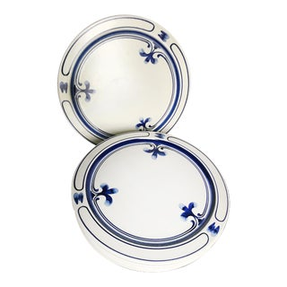 Rosenthal Siena Blue Dinner Plates - Set of 6