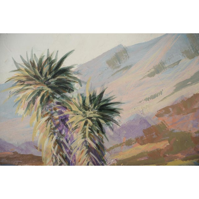 Indio Hills & Valley Desert Landscape Painting - Image 6 of 10