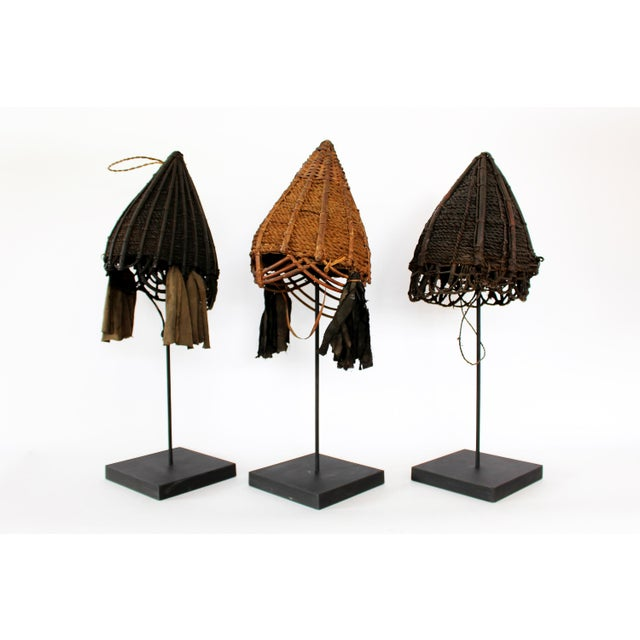 Naga Unadorned Conical Hats - Image 2 of 10
