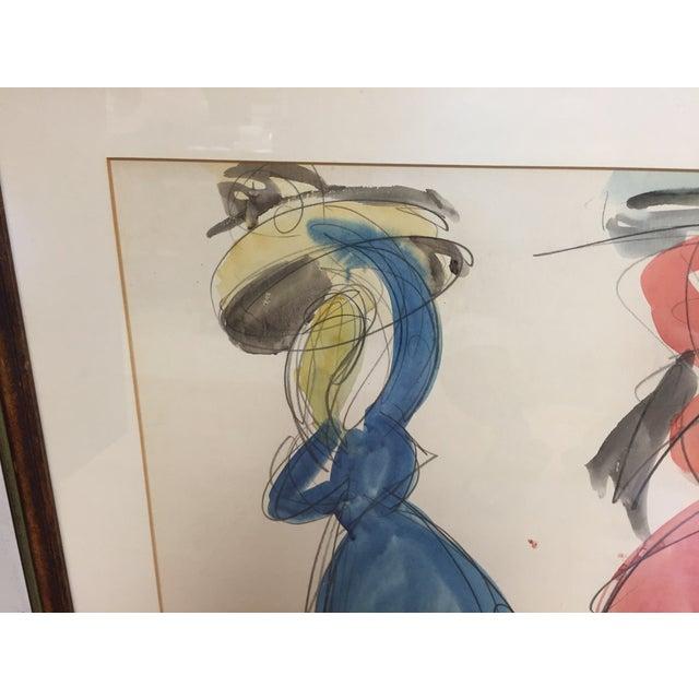 Shimshon Holzman Painting - Image 4 of 8