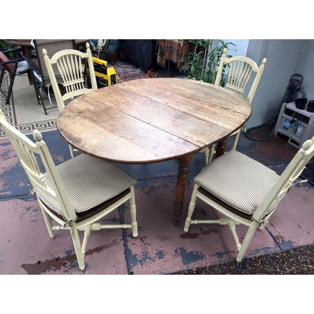 19th Century French Country Dining Set - Image 4 of 8
