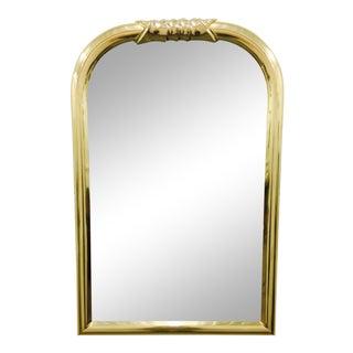 Vintage Mid-Century Brass Mirror