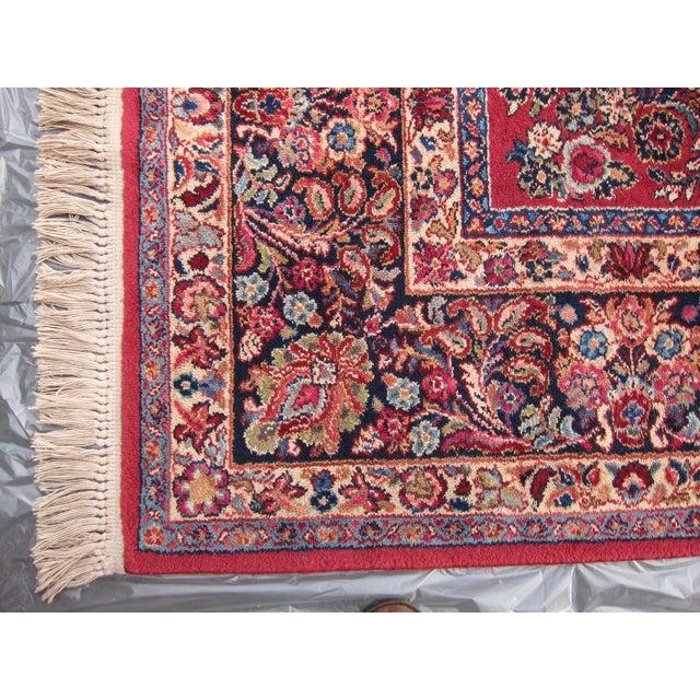 Karastan Red Sarouk Pattern - 8′9″ × 12′ - Image 3 of 8