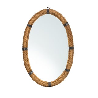 Nautical Rope Oval Mirror
