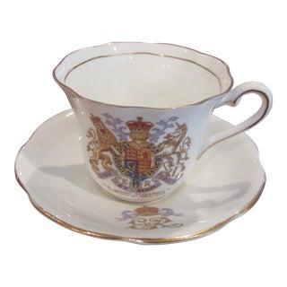 Queen Elizabeth Coronation Teacup & Saucer