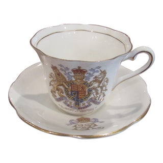 Queen Elizabeth Coronation Teacup & Saucer