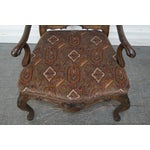 Image of Rococo Style Carved Arm Chair